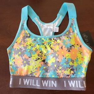 ENERGIE Racer Back Sports Bra Size XS